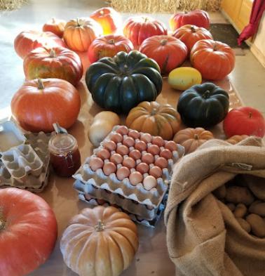La ferme et ses produits